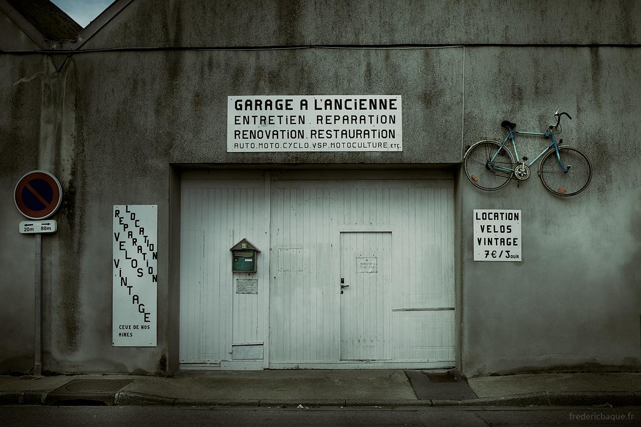Garage à l'ancienne