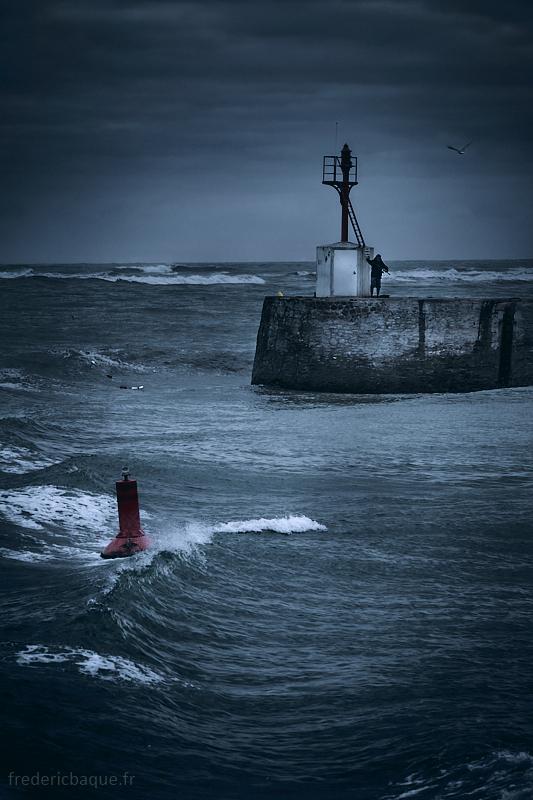 Le pêcheur du phare de Boisvinet